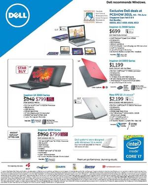 Exclusive Dell Deals At Singapore Expo Hall From June 4 7 2015 68221