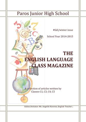 The English Language Class Magazine #3