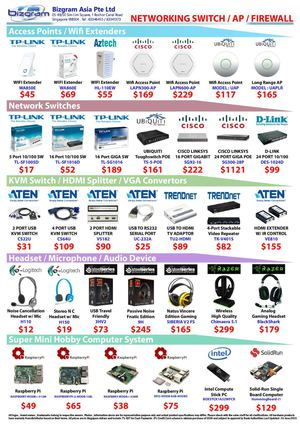 Bizgram HEADSET RASPBERRY KVM ACCESS POINT DEALS