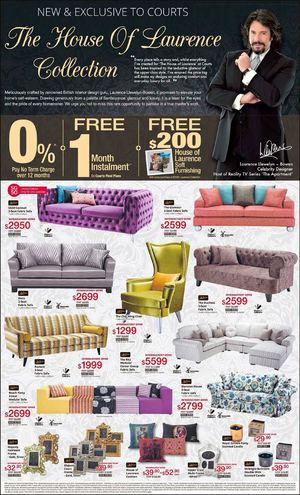 House Of Laurence Collection Exclusive At Courts Valid Till June 8 201568273 68273