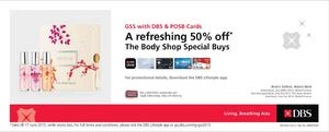 A Refreshing 50 Off At The Body Shop Using Dbs Card Valid Till June 17 2015 68295