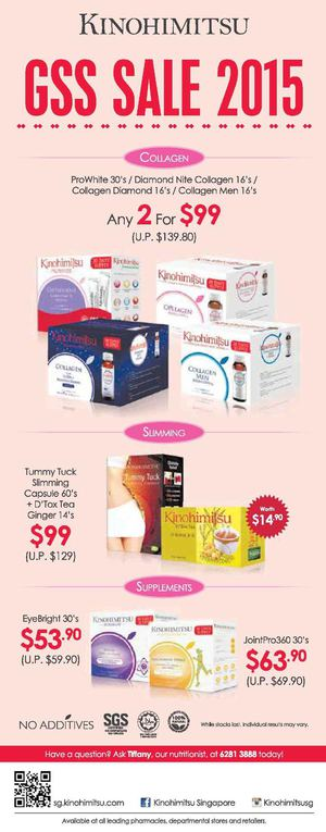Great Singapore Sale 2015 At Kinohimitsu Offers Valid While Stocks Last 68288