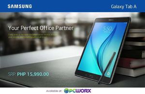 Get The Samsung Galaxy Tab A With S Pen For Only P15990 At Pcworx While Stocks Last68332 68332