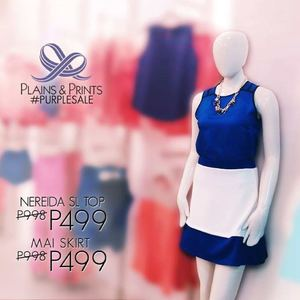 Get The Nereida Sl Top Mai Skirt For Only P499 Each At Plains Prints While Stocks Last68360 68360