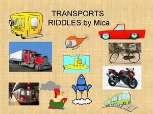 TRANSPORTS RIDDLES Mica Sananes   Final