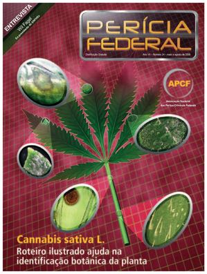 Revista Perícia Federal 24 MAIOAGOSTO 2006 Cannabis Sativa L.