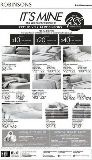 Enjoy Up To 70 Off On Beddings Bedlinen Bath At Robinsons Offer Valid While Stocks Last 68363