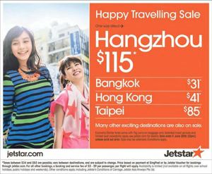Happy Travelling Sale At Jetstar Book From Now Till June 11 201568371 68371