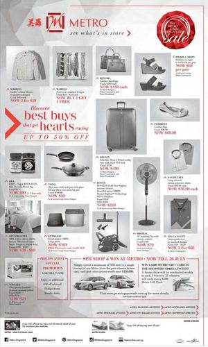 Discover Best Buys That Get Hearts Racing Up To 50 Off At Metro Offer Valid While Stocks Last 68372