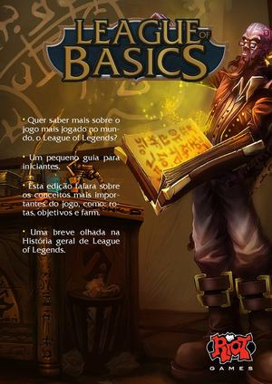 League of Basics - Um guia simples sobre LoL