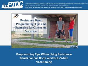 How To Use Resistance Bands To Maintain An Exercise Routine While Traveling