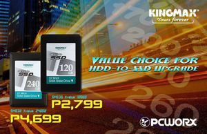 Grab The Kingmax Sme32 2 5 Sata 3 Ssd For As Low As P2799 At Pcworx While Stocks Last68399 68399