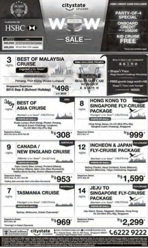 Party Of 4 Special At Citystated Cruises Book Now While Seats Last68392 68392