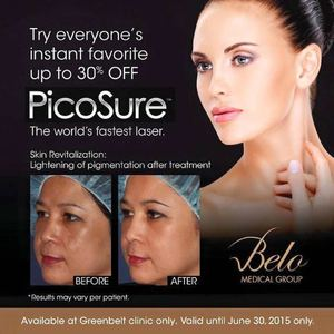 Enjoy Up To 30 Off On The Picosure Treatment At Belo Valid Until June 30 201568416 68416