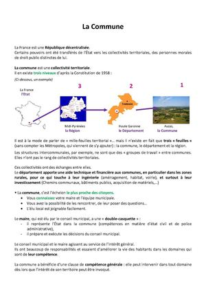 Explication De La Commune
