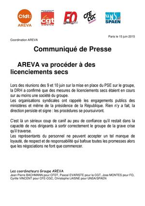 Com Presse Licenciements