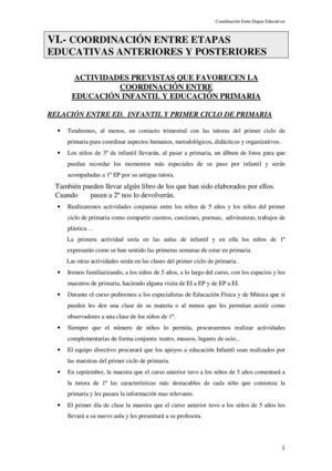 Calaméo Vi Coordinacion Entre Etapas Educativas 1 3 R 15