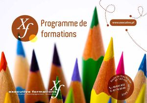 Executive Formation - Catalogue de Formation