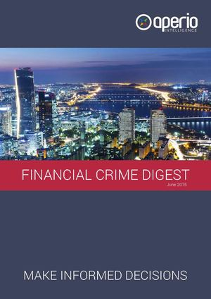 Aperio Financial Crime Digest June 2015