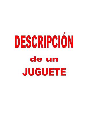 M1 DESCRIP JUGUETE 2