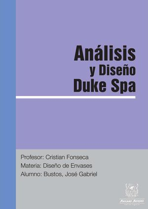 Proceso Duke Spa