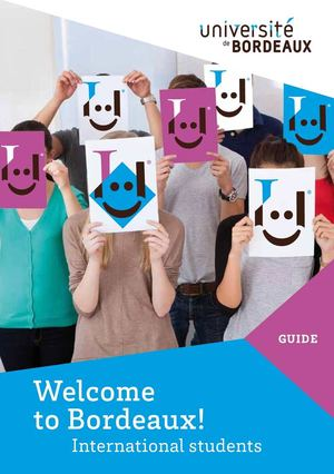 Welcome Guide 2015