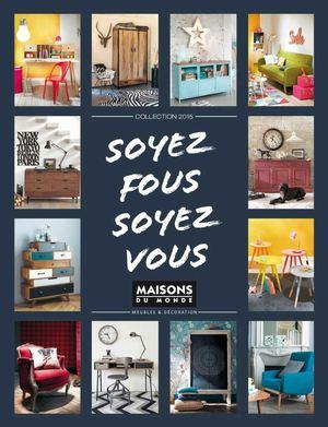 calam o catalogo maisons du monde 2015. Black Bedroom Furniture Sets. Home Design Ideas