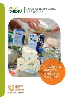 Food Labelling How To Be Compliant