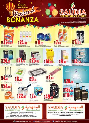SAUDIA GROUP (SAUDIA DEPARTMENT STORES) WEEKEND BONANZA