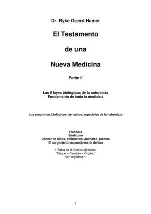 Calaméo 68782625 Libro Nueva Medicina Germanica Parte Ii Dr Ryke Geerd Hamer