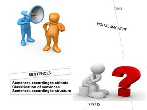 Digital Magazine Sentence (Ingles)