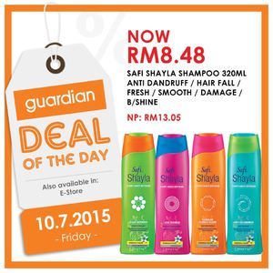 Deal Of The Day At Guardian Offers Valid On July 10 2015 Only 69700