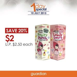 Save 20 When You Buy A Tube Of Ponybrown Hand Cream At Guardian On July 10 201569699 69699