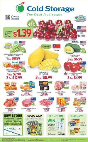 Freshest Quality Ingredients From Around The World Available At Cold Storage Till July 15 2015 69702
