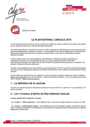 36166 40719 2015 06 30 Le Plan National Canicule 2015 1