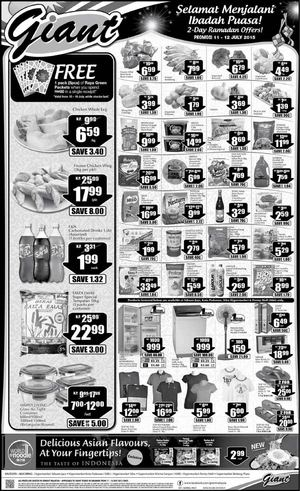Great Sunday Offers At Giant Offer Valid From July 11 12 2015 Sarawak 69767