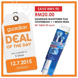 Deal Of The Day At Guardian Pharmacy Offer Valid On July 12 201569781 69781
