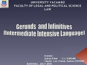 Magazine of gerunds and infinitives, Evaluation II