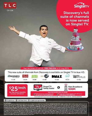 Discoverys Full Suite Of Channels Is Now On Singtel Tv Offer Valid Till July 16 2015 69791