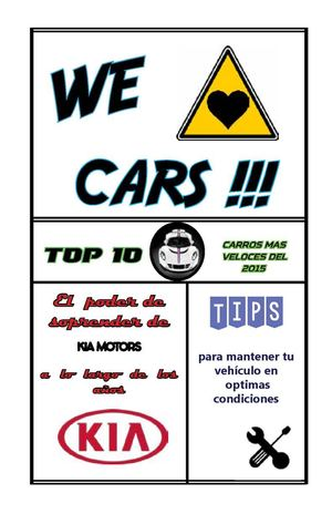 we love cars !
