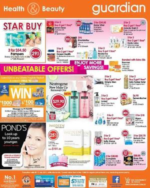 Unbeatable Offers At Guardian Pharmacy Offer Valid Till July 15 2015 69799
