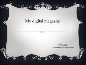 My Digital Magazine 1