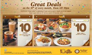 Great Deals On The 10th Of Every Month At Oldtown White Coffee Offer Valid Till December 201569842 69842