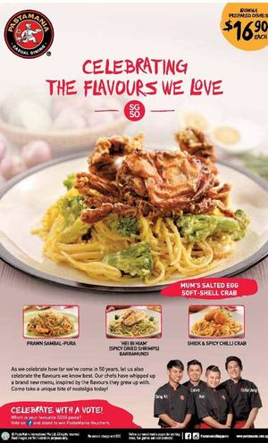 Celebrating The Flavours We Love At Pastamania Offer Valid While Stocks Last69844 69844