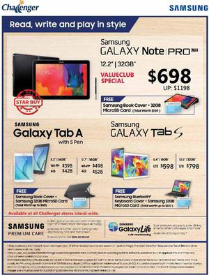 Read Write And Play In Style With Samsung At Challenger Valid While Stocks Last69848 69848