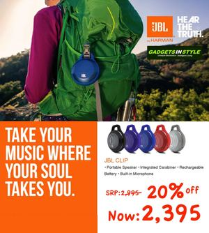 Take Your Music Where Your Soul Takes You With Jbl Clip At Gadgets In Style Valid While Stocks Last 69868