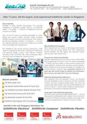 Calaméo - SeaCAD Technologies Pte Ltd