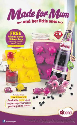 Ribena Promotion Available Now At All Major Supermarkets Participating Stores Till August 31 2015 69876