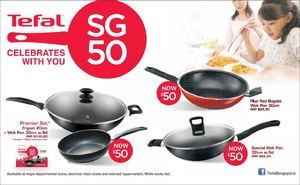 Sg50 Celebration At Tefal Offers Are Valid While Stocks Last 69880