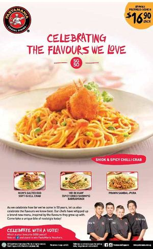 Celebrating The Flavours We Love At Pastamania Offer Valid While Stocks Last69885 69885